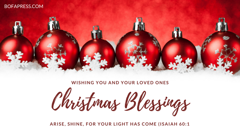 Wishing You and Your Loved Ones Christmas Blessings